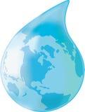 Gota do mundo ilustração do vetor