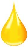 Gota do petróleo Fotografia de Stock Royalty Free