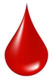 Gota do sangue Foto de Stock