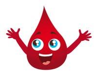 Gota do sangue Fotos de Stock Royalty Free
