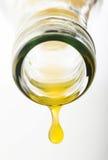 Gota do suco de laranja Imagem de Stock