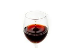 Gota do vinho Imagem de Stock Royalty Free