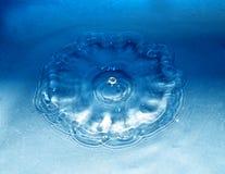 Gota e respingo da água Imagens de Stock Royalty Free