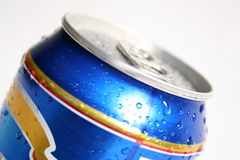 Gota en bebida Foto de archivo libre de regalías