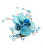 Gota para el oído azul Fotografía de archivo libre de regalías