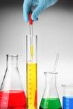 Gota química imagem de stock royalty free