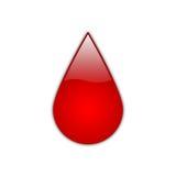 Gota vermelha [01] Fotos de Stock Royalty Free
