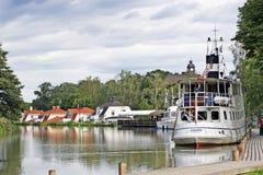 Gotaland, Suède - le canal de Gota Images libres de droits