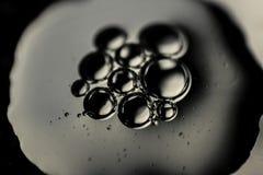 Gotas abstratas da água Fotos de Stock Royalty Free