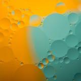 Gotas abstratas do óleo da cor ilustração royalty free