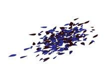 Gotas chapinhadas dos confetes ilustração do vetor