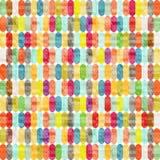Gotas coloridas Fotografía de archivo libre de regalías