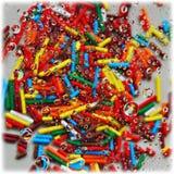 Gotas coloridas da água Foto de Stock
