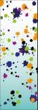 Gotas coloridas da bandeira ilustração do vetor