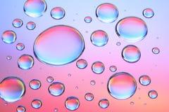 Gotas-d da água Imagem de Stock Royalty Free