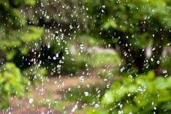 Gotas da água imagem de stock royalty free
