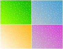 Gotas da água, Imagens de Stock