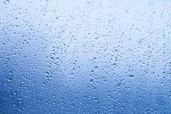 Gotas da água no indicador imagem de stock royalty free