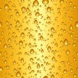 Gotas da cerveja Fotografia de Stock