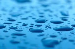 Gotas da chuva Foto de Stock Royalty Free
