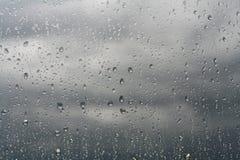 Gotas da chuva Imagem de Stock Royalty Free