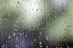 Gotas da chuva Fotos de Stock