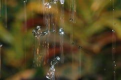 Gotas da chuva de queda Foto de Stock Royalty Free