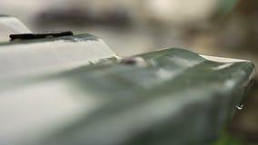 Gotas da chuva do telhado filme