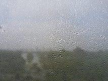 Gotas da chuva no indicador Foto de Stock