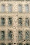 Gotas da água no indicador Foto de Stock Royalty Free