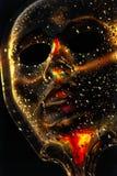 Gotas da máscara Imagens de Stock