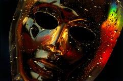 Gotas da máscara Fotos de Stock Royalty Free