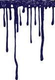 Gotas 1 da tinta ilustração stock
