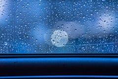 Gotas das chuvas Foto de Stock Royalty Free