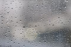 Gotas das chuvas Imagem de Stock