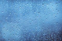 Gotas das chuvas Fotografia de Stock