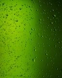 Gotas de água no vidro Imagens de Stock