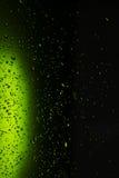 Gotas de água no vidro Imagem de Stock