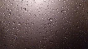 Gotas de água no vidro Imagens de Stock Royalty Free