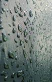 Gotas de agua en la macro de la tienda Fotos de archivo libres de regalías