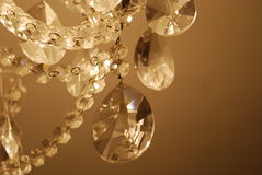 Gotas de cristal imagens de stock