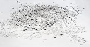 Gotas de cristal brilhantes Fotografia de Stock Royalty Free