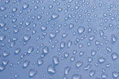 Gotas de água Fotografia de Stock Royalty Free