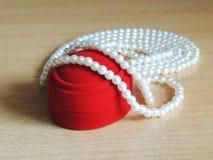 Gotas de la perla Imagen de archivo libre de regalías