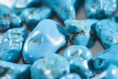 Gotas de la turquesa Imagen de archivo