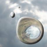 Gotas de lluvia Imágenes de archivo libres de regalías