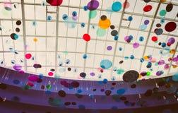 Gotas de lluvia del color fotos de archivo libres de regalías