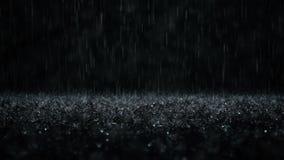Gotas de lluvia el caer metrajes