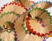 Gotas de los lápices Foto de archivo libre de regalías