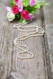 Gotas de perlas Imagen de archivo